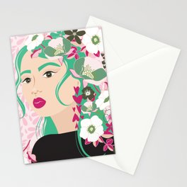 Floral & Feminine - Determined Stationery Cards