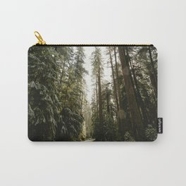 Redwood Forest Adventure III - Nature Photography Carry-All Pouch