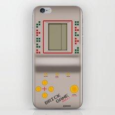 brick game iPhone & iPod Skin