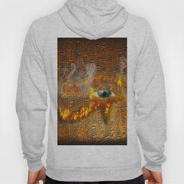 The Prophecy of Fire - Ancient Egypt Eye of Horus Hoody
