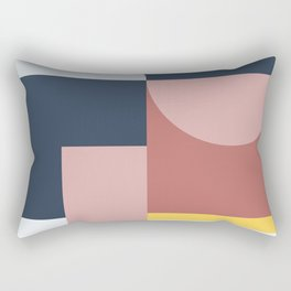 Abstract Geometric 05 Rectangular Pillow