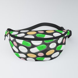 Deadly Pills Pattern Fanny Pack