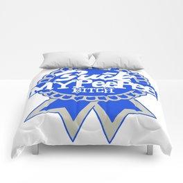 SUCK MY PEE PEE BITCH Comforters