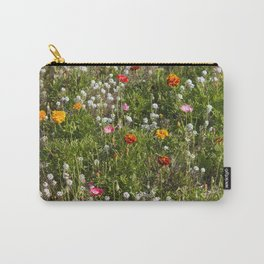 Field of Wild Flowers Carry-All Pouch