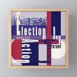 Election Day 4 Framed Mini Art Print