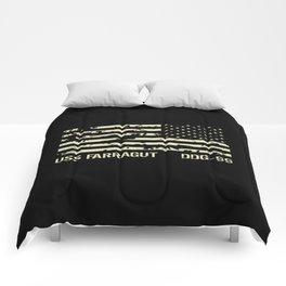 USS Farragut Comforters