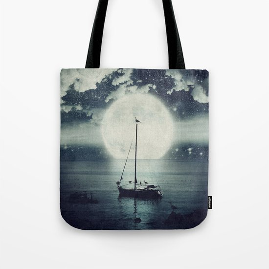 A Journey Under A Starry Night Sky Tote Bag