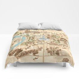 The City of Philadelphia Comforters