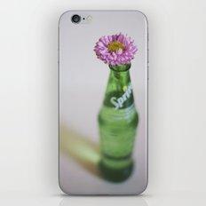 Pink Flower in a Sprite Bottle  iPhone & iPod Skin