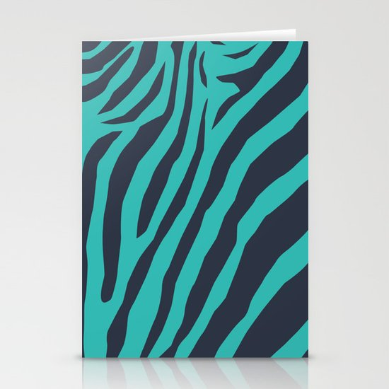 Zebra's Not Dead II Stationery Cards