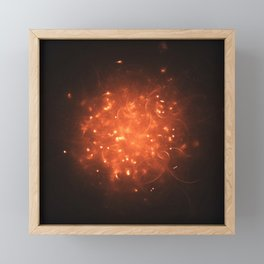 Stellar Fireball Framed Mini Art Print