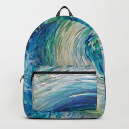 Wave to Van Gogh III Backpack