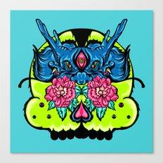 Dragon Skull Canvas Print