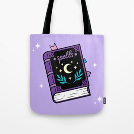 Magical Spellbook Tote Bag