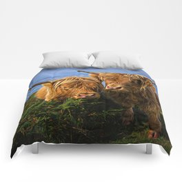 Highland Cows Comforters