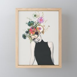 Floral beauty Framed Mini Art Print