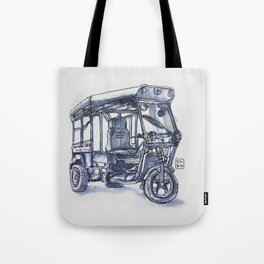 vietnam 3 wheelers Tote Bag