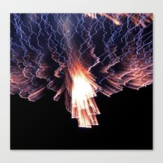 Cloud of fire Canvas Print