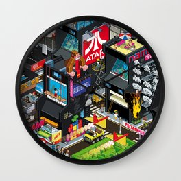 GAMECITY Wall Clock