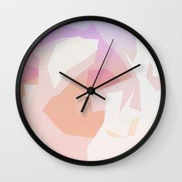 beau abstract 3 Wall Clock