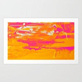 All About Sun Art Print
