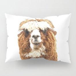 Alpaca Portrait Pillow Sham