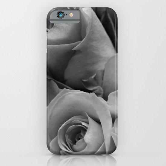 Roses Black & White #4 iPhone & iPod Case