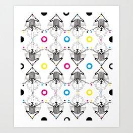Jugglers Art Print