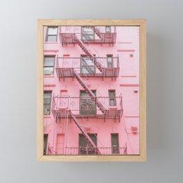 Pink Soho NYC Framed Mini Art Print