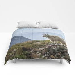 The Ups and Downs of Being A Mountain Goat No. 2a Comforters