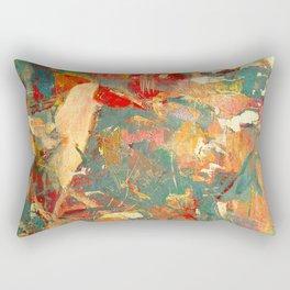 Piccolo Uccello in Fitto Bosco Rectangular Pillow