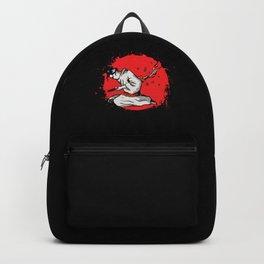 Samurai Harakiri Seppuku Japan Ninja Shinobi Gift Backpack