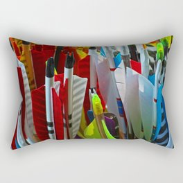 The Soul of the Archer Rectangular Pillow