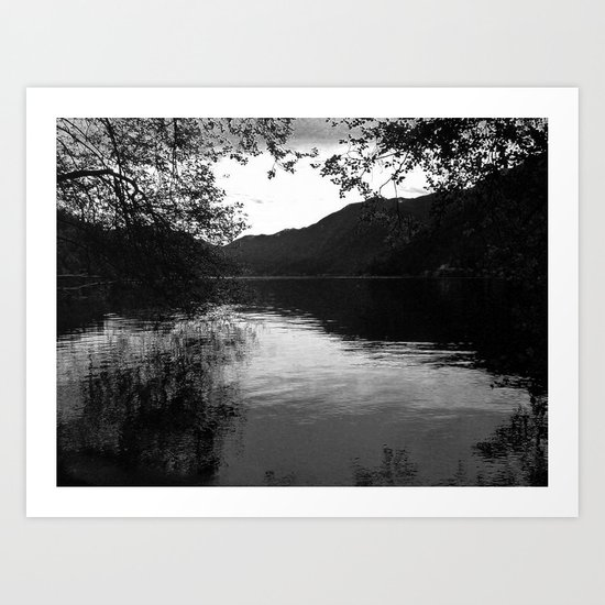 Peace by the Water Art Print