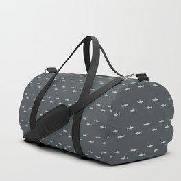 Sharks Pattern Duffle Bag