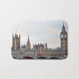 English Parliament Bath Mat