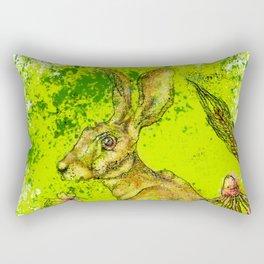The Great Hare Rectangular Pillow