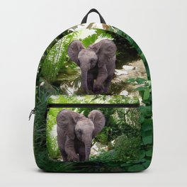 Elephant and Jungle Backpack