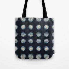 Shibori Moons Tote Bag
