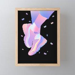The ship has weather'd every rack Framed Mini Art Print