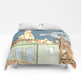 Big Thunder Mountain Railroad Comforters