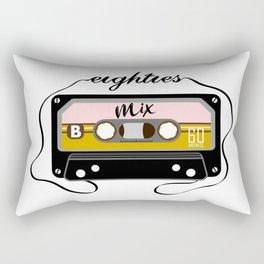 Eighties mix tape Rectangular Pillow