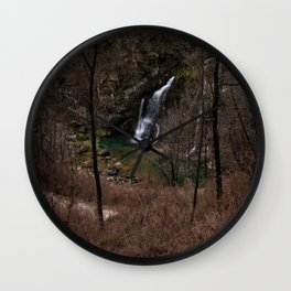 Slap Virje View From Above Wall Clock