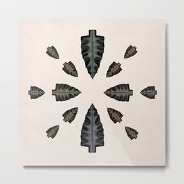 arrowhead collection Metal Print