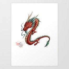 Dragon pure Art Print
