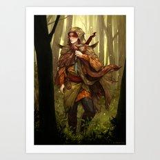 Kvothe Art Print