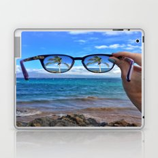 Hawaii Sunglasses Palmtrees Laptop & iPad Skin
