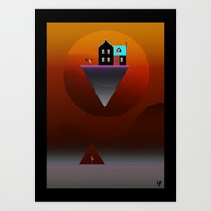 Go get the mail! Art Print