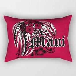 Maui Poly Tribal Distressed Rectangular Pillow