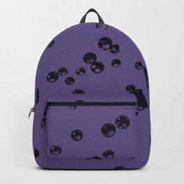 Ultra Violet Crystal Stones #3 #shiny #decor #art #society6 Backpack